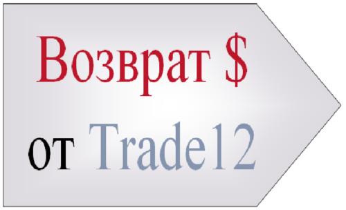 Возврат денег от Trade12